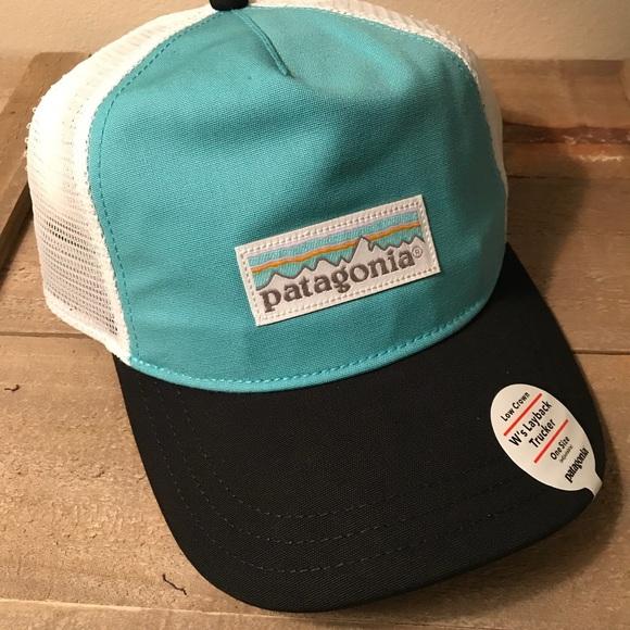 ea4836b10db Patagonia Pastel P-6 Label Layback Trucker Hat